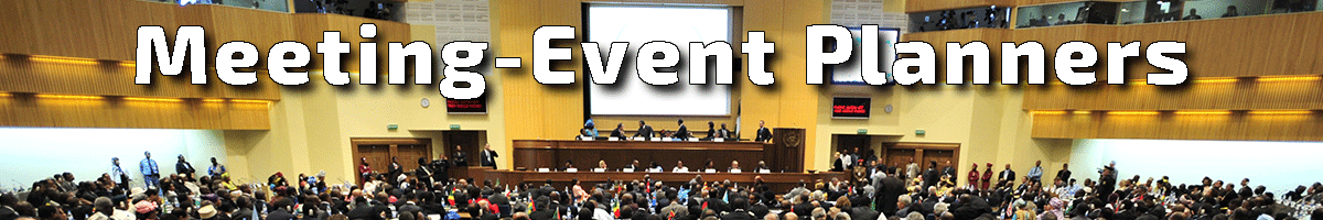 this image is the header graphic for the section of tabletop exercises designed for Meeting & Event Planners